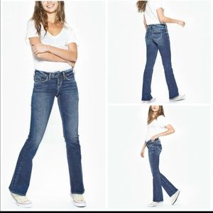 Silver jeans  Tuesday boot cut jeans